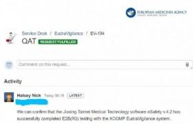 国内首家!太美医疗eSafety对接欧盟EudraVigilance数据库